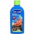Dětský šampón a sprchový gel Cars Jablko 2v1