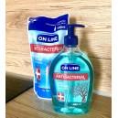 Antibakteriální mýdlo na ruce + náplň