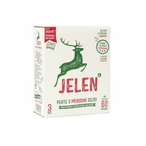 Mýdlový prací prášek Jelen 3 kg
